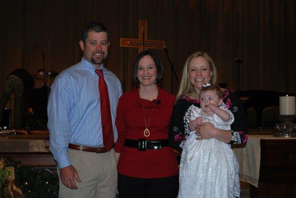 Baptizing Hannah